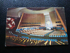 NATIONS-UNIS - carte postale (cy56) united nations (2eme choix pliure)