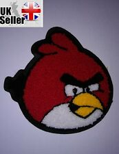 Angry birds Large Fluffy Sew-on Embroidered Patch