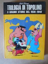 TRIOLOGIA DI TOPOLINO 3 grandi Storie 1938  Copia per abbonati 1969 Disney [C76]