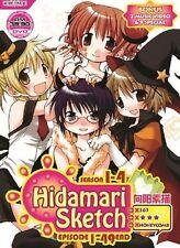 Hidamari Sketch Sea. 1-4 (TV 1 - 49 End + 2 MV + 9 Special) DVD + FREE DVD