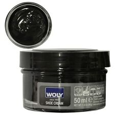Woly 50ml Shoe Creams - Leather Cream For Shoes, Bags & Boots - Various Colours