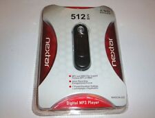 Nextar 512 MB MP3 Player - Black - Plus Voice Recording - Brand New Sealed