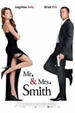 "Mr And Mrs Smith Movie Poster Mini 11""X17"""