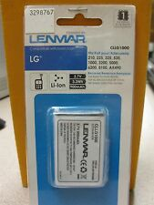 Lenmar CLLG1000 Cell Phone Battery LG 210, 225 New in Package Free Shipping!