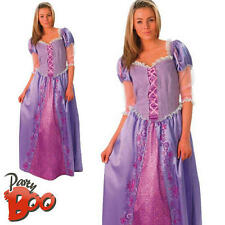 Rapunzel UK 16 18 Ladies Disney Tangled Fancy Dress Adults Womens Costume Outfit
