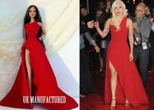 Celebrity Lady Gaga Abito Rosso per FASHION Royalty