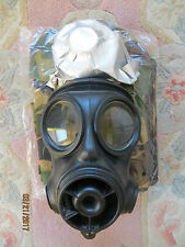 BRITISH ARMY S10 GAS MASK (SIZE 2), WRAPPED FILTER & BRAND NEW HAVERSACK!