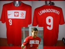 Poland LEWANDOWSKI Adult XL Nike BNWT Shirt Jersey Football Soccer Polska Red