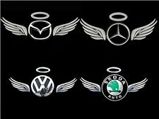 Angel Car Emblem Badge Decal Logo Sticker Car Truck Motorcycle Bike Accessories