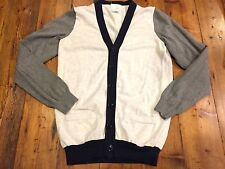 CREWCUTS Boy's Color Block Cardigan Sweater- Size 14- Retails $55