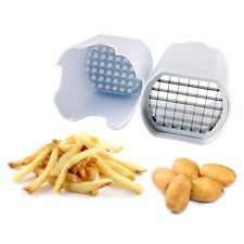 Neuf facile chip cutter chipper potato chopper pour parfait frites fry