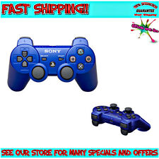 PLAYSTATION 3 | GENUINE BLUE SixAxis DualShock Wireless Controller For Sony PS3