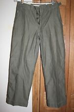 US Military Issue WW2 Era Army Cold Weather Combat Trousers 28x28