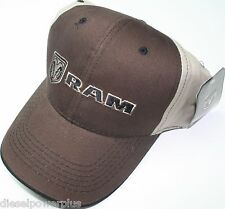 dodge Ram auto car diesel embroidered baseball cap truck hat head logo mopar
