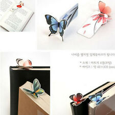 Cartoon Butterfly Book Marks Paper Clip  Bookmarks Girl's Gift Office School