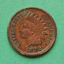1892 USA United States Indian Head Small Cent SNo44400