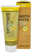 Redmond Real Salt Earthpaste Lemon Twist Natural Toothpaste for Kids 4 Oz./113 g