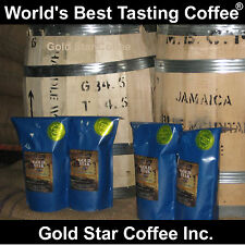 2 DARK ROAST + 2 CITY Roast = 4 lb Jamaica Jamaican Blue Mountain Coffee
