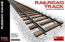Miniart 1/35 Railroad Track Russian Gauge # 35565
