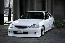 99-00 HONDA CIVIC EK CHARGESPEED LIP SPLITTER JDM 2/3/4 DOOR SPOILER FACELIFT