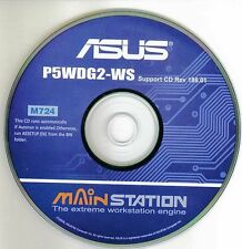 ASUS P5WDG2-WS Motherboard Drivers Installation Disk M724
