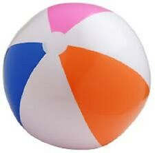 "(48) LARGE BEACH BALLS 20"" Pool Party Beachball NEW! #AA92 Free Shipping"