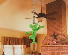 Disney Mickey Mouse Plant Tree Ceiling Fan Pull Light Lamp Chain Decor K1272 F