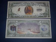 LORD JESUS UNCIRCULATED   NOVELTY NOTE FREE NOTE OFFER!