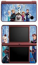 DISNEY FROZEN VINYL SKIN STICKER FOR NINTENDO  DSI XL REF 20 FROZEN