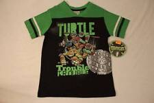 NEW Boys Teenage Mutant Ninja Turtles T Shirt Size 7 Top TMNT Movie Tee Black