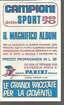 FIGURINA CARD  PANINI CAMPIONI DELLO SPORT 1969/70 # 113 - CHRIS AMON -NUOVA