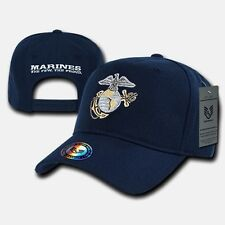 Blue United States Marine Corps Marines USMC Baseball US Military Ball Cap Hat