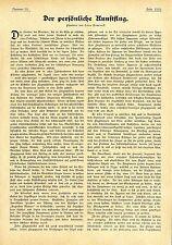 Hans Dominik Der persönliche Kunstflug Eine Plauderei Textdokument von 1906