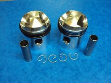 TRIUMPH PISTON SET TIGER T100 PRE UNIT 63MM STD  1939-58  70-3615  LF HARRIS