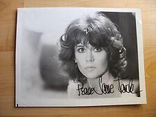 Jane Fonda #1     Schauspielerin    Großfoto mit Originalautogramm.
