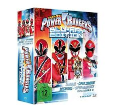 POWER RANGERS - SEASON 18-21 (BLU-RAY EDITION)  9 BLU-RAY NEU