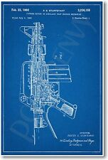 AR-15 Assault Rifle Gun Patent - NEW Invention Patent Art POSTER