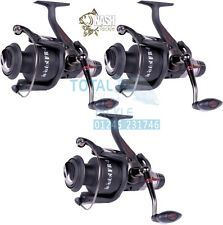 NASH Tackle NEW H-Gun FR 8 Freespool Carp Fishing Reels x3