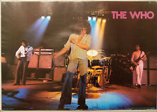 (PRL) 1979 THE WHO MUSIC BAND ROCK VINTAGE AFFICHE PRINT ART POSTER COLLECTION