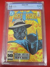 BATMAN #386 (1985) CBCS 9.6 L@@K!  OFF WHITE/WHITE PAGES FIRST BLACK MASK DC CGC