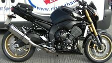 YAMAHA FZ8 FAZER800 Stainless Tri Carbon Outlet ROAD LEGAL MTC Exhaust