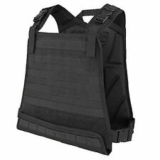 Condor Compact Plate Carrier - Black - CPC-002 MOLLE PALS