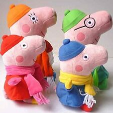 Familia Peppa Pig Conjunto De Invierno - 4 piezas