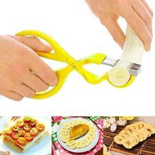 Banana Slicer Cutter Chopper Fruit Cucumber Vegetable Kitchen Gadgets Scissor