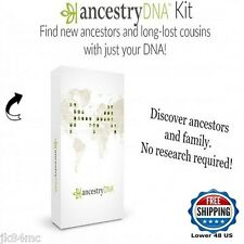 Ancestry DNA Test Genetic Family Tree Geneology Research Certified Testing NEW