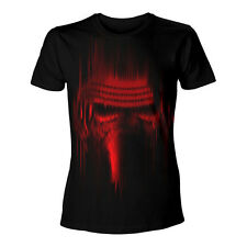 Star Wars Kylo Ren Red Lines Print T-Shirt Unisex Taille / Size M