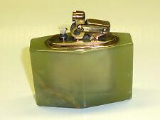 KW (KARL WIEDEN) SEMI-AUTOMATIC TABLE LIGHTER W. MARMOR CORPUS - 1930 - GERMANY