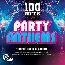 100 HITS-PARTY ANTHEMS NEW DIGIPACK EDITION(Journey,  N*Sync, Five)  5 CD NEU