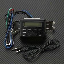 Waterproof Motorcycle Audio FM MP3 Radio Sound System Stereo For Harley Cruiser