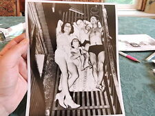 1937 Lower East Side Fire Escape Heat Wave Tenement New York City NYC Photo